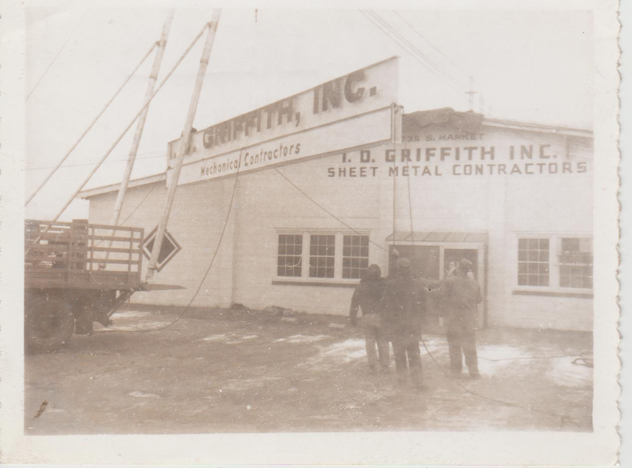 Hanging of the IDG Sign