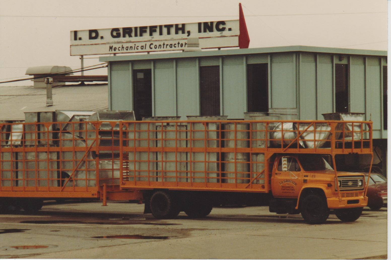 One of the Company's First Trucks