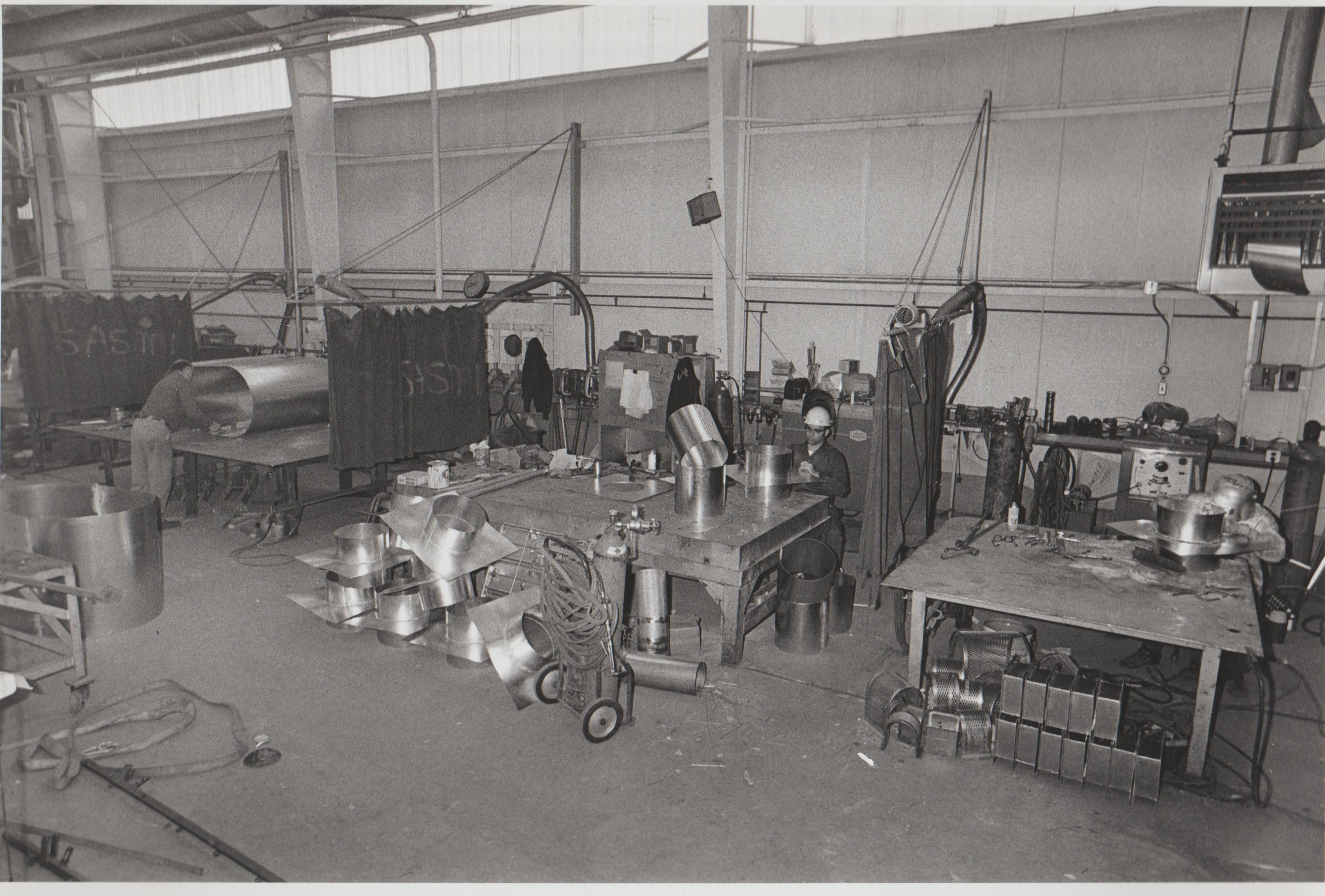A Look Back in Time of the Sheet Metal Shop